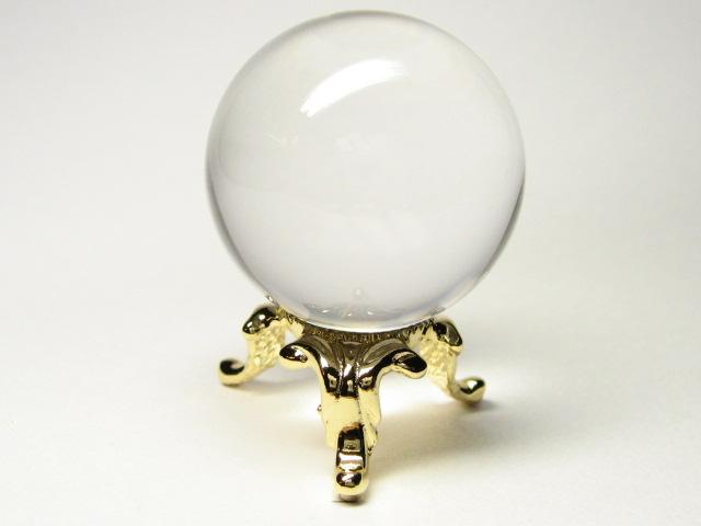 天然 水晶丸玉を販売