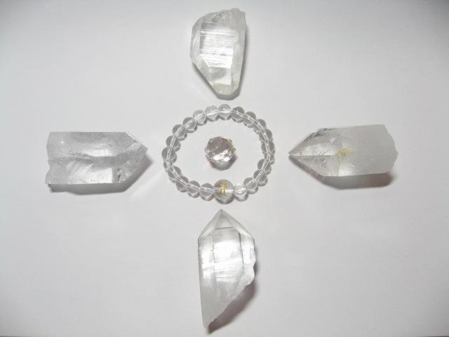 水晶ポイントによる浄化方法