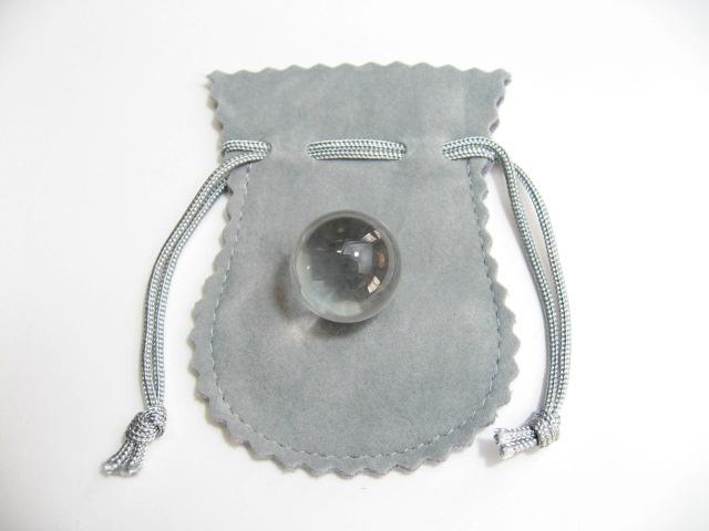 最高級 天然 水晶丸玉・水晶玉18mm