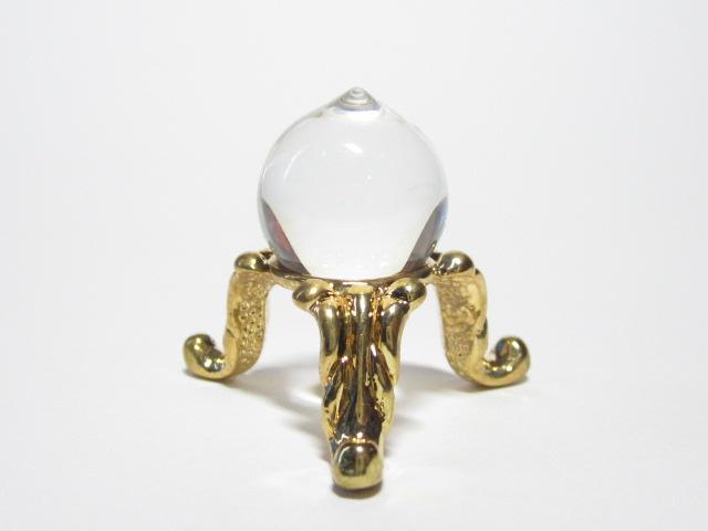 最高級 天然 水晶 如意宝珠15mm