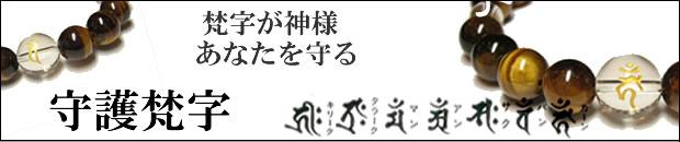 守護梵字・干支梵字 梵字が神様・あなたを守るタイガーアイ