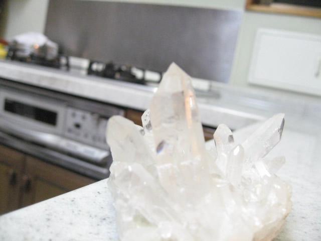 パワーストーンの水晶クラスター