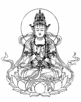 守り本尊・守護神【大日如来】守護梵字【バン】