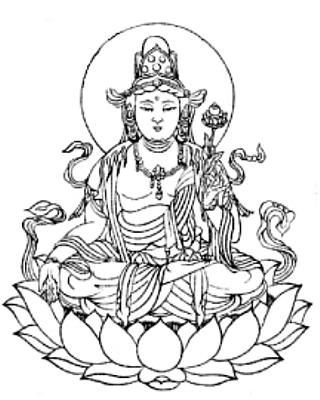 守り本尊・守護神【虚空蔵菩薩】守護梵字【タラーク】