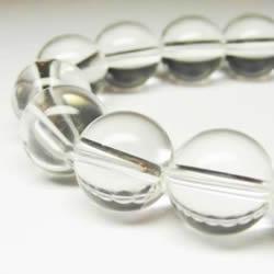 水晶ブレスレット・パワーストーンブレスレット  最高級天然水晶 12mmブレスレット