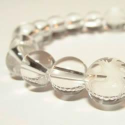 四神獣水晶ブレスレット内径18cm  水晶ブレスレット・パワーストーンブレスレット