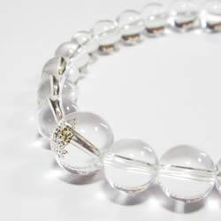 水晶ブレスレット・パワーストーンブレスレット   干支守護神・守り本尊 水晶10mm数珠ブレスレット