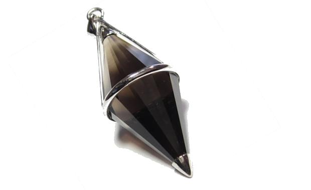 茶水晶 ペンデュラム ペンダントトップ