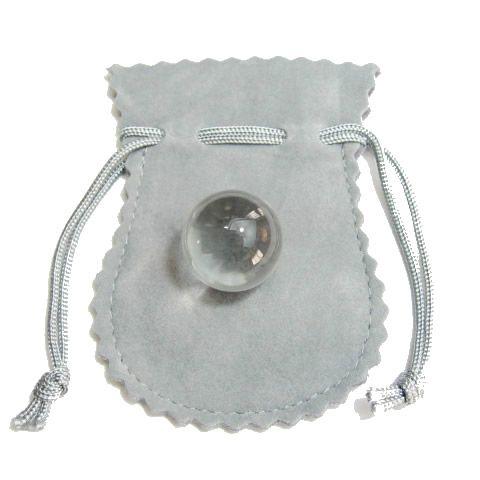最高級 天然 水晶 丸玉18mm 袋付き 天然石