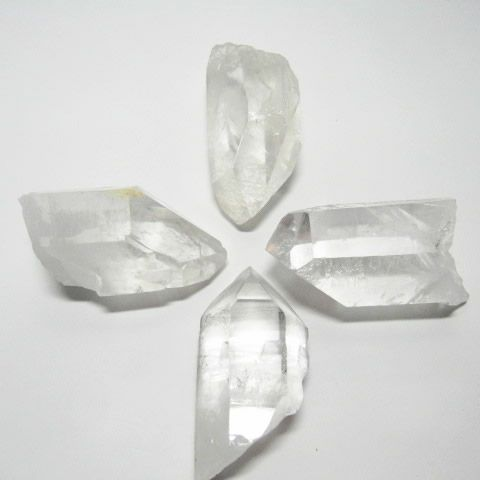 水晶浄化用ポイント・水晶六角原石