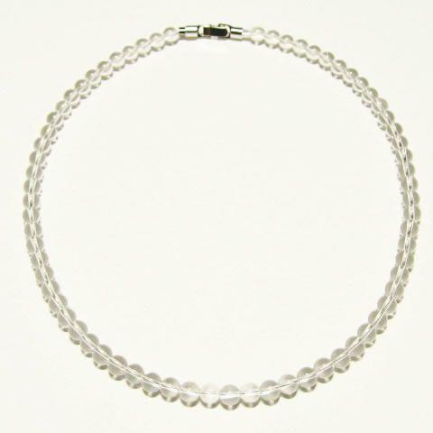 天然石・本物の水晶ネックレス
