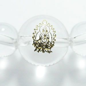 干支守護神 普賢菩薩 水晶8mm数珠ブレスレット