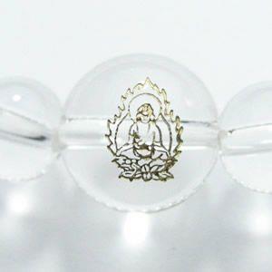 干支守護神 阿弥陀如来 水晶8mm数珠ブレスレット