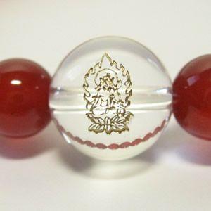 干支守護神【虚空蔵菩薩】丑年・寅年の干支守護石 赤メノブレス