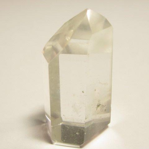 浄化用パワーストーン  水晶六角柱原石・水晶ポイント121