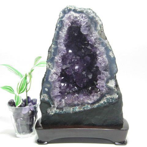 パワーストーンのアメジストドーム原石・紫水晶洞 4.95Kg
